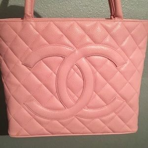 Chanel purse, pink special edition